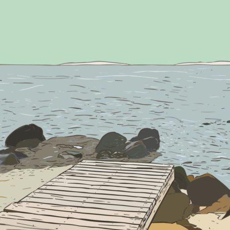 Hilgenriedersiel an der Nordsee im Nordsee-Podcast Teetied & Rosinenbrot