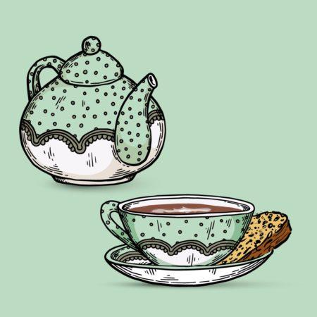 Teetied aus Ostfriesland im Nordsee-Podcast Teetied & Rosinenbrot
